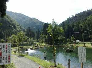 20090815朽木渓流魚センター