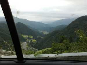 車窓から...