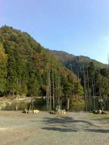 20091031朽木渓流魚センター