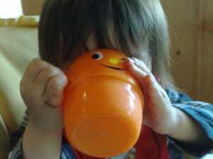 20100523牛乳飲んでご馳走さま!
