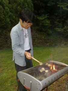20100710ホルモンも焼きます!