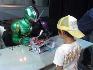 20100828仮面ライダーWのサイン